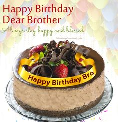 Happy birthday brother happy birthday wishes for brother - Happy birthday images For Brother with quotes Birthday Wishes For Brother, Happy Birthday Dear, Happy Birthday Pictures, Happy Birthday Greetings, Brother Pictures, Cake Models, Stay Happy, Birthday Quotes, Birthdays