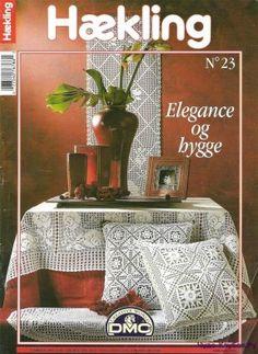 Haekling 23 Knitting Magazine, Crochet Magazine, Crochet Doily Patterns, Crochet Doilies, Crochet Books, Knit Crochet, Hygge, Crochet Instructions, Pattern Books