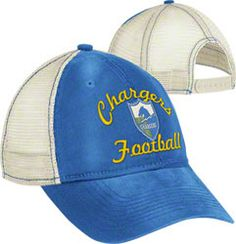 San Diego Chargers Women's Hat: Vintage Classic Adjustable
