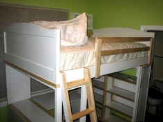 Chelsea Loft Bed | Do It Yourself Home Projects from Ana White