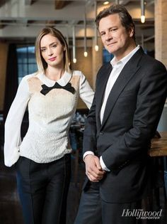 Colin Firth and Emily Blunt