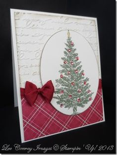 "This card is done using the new Special Season Stamp Set from Stampin' Up! isn't it gorgeous paired with the fabulous ""Season of Style"" Designer Series Paper? I think so."