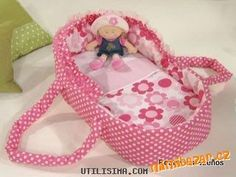 Doll Carrier or Bed - pattern and tutorial