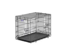 $61.54-$109.99 Midwest Select Triple-Door Dog Crate, 30 Inches by 19 Inches by 21 Inches - MIDWEST Select Triple Door Crate-   Designed completely around the safety, security and comfort of you Dog. The MIDWEST Select, a triple door dog crate sets up easily with the fold and carry configuration that requires no use of tools and can be completed by almost anyone. The dog crate comes to you equippe ...