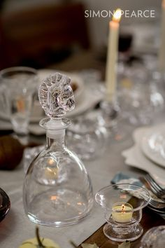 Create a bluegrass inspired table-setting with the help of Simon Pearce and @lvharkness