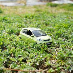 한결 따뜻해진 #날씨 그리고 푸른 잔디밭 위의 #모닝 #다이캐스트 가 #봄 소식을 전합니다  The warmer #weather and #Morning ( #Picanto ) #diecast on the verdant #lawns brought the message of #spring  #KIA #Motors #car #toy #green #grass #date #Korea #daily #기아자동차 #장난감 #포항 #나들이 #국내여행 #여행 #일상 #데일리 #자동차 #자동차그램 #소소잼