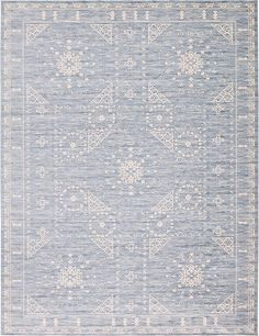 "Blue Restoration Area Rug. $549.00. 12.2""x16"""