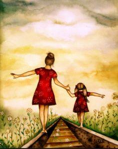 « Il n'y a rien au monde qui me rende plus fière que d'être la fille de ma mère. Que d'être ta fille, à toi maman. »
