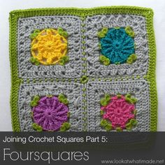 Crochet Stitches Joining : crochet tutorials stitches on Pinterest Crochet stitches, Joining ...