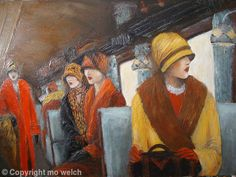 Train Belles by Mo Welch