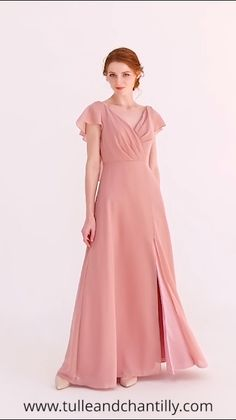 Bridesmaid Gowns tulle and chantilly new arrival duty rose bridesmaid dress with open back 2019 - Shop for inexpensive tulle, lace and chiffon bridesmaid dresses include all styles Evening Dresses, Prom Dresses, Wedding Dresses, Modest Wedding, Chifon Dress, Dusty Rose Bridesmaid Dresses, Burgundy Bridesmaid, Simple Dresses, Designer Dresses
