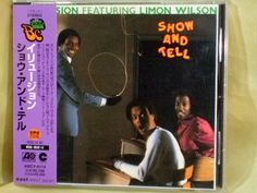 CD/Japan- ELUSION featuring LIMON WILSON Show And Tell w/OBI RARE OOP AMCY-6114 #FunkSoul