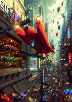 Showcase of Mind Blowing Concept Art of Futuristic Cities / / Spoon Graphics