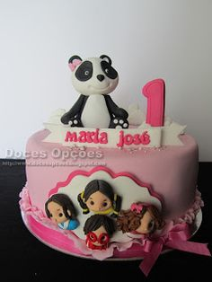 Doces Opções: O Panda e os Caricas Costa, Pastel, Desserts, Food, Panda Cakes, Panda Birthday Party, Nail, Sweets, Bebe