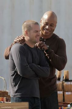 Their faces! NCIS Los Angeles Sam and Callen