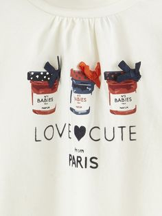 #tapealoeil #tao #fashion #print #cute #paris #tshirt #babygirl #love