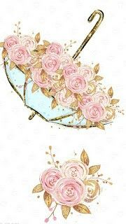 26 new Ideas for wall paper android vintage ideas Flower Wallpaper, Wallpaper Backgrounds, Watercolor Flowers, Watercolor Art, Decoupage Paper, Vintage Flowers, Cute Wallpapers, Vintage Wallpapers, Cute Drawings