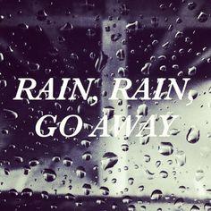 Rain Rain Go Away / Jennifer Chong @jchongstudio on #instagram