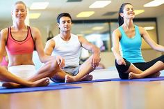Low to moderate exercise: yoga and pilates