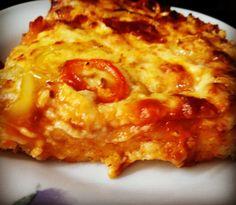 Cookbook Recipes, Cooking Recipes, Yams, Greek Recipes, Hawaiian Pizza, Lasagna, Macaroni And Cheese, Food Processor Recipes, Food And Drink