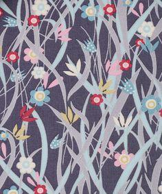 Liberty Art Fabrics Patsy A Tana Lawn Cotton by Lauren Child