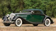 ©️️ RM Sothebys 1938 Mercedes-Benz 320 Cabriolet A Green Vintage Cars, Antique Cars, Gottlieb Daimler, Mercedes 500, African Market, Rally Car, New Tricks, Convertible, Classic Cars