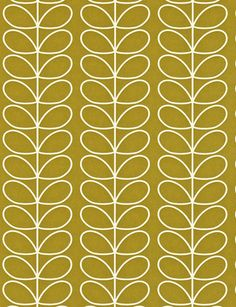 Linear Stem wallpaper from the Orla Kiely collection from Harlequin