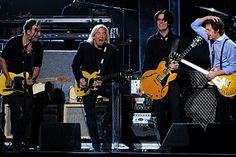 Bruce Springsteen, Joe Walsh, and Sir Paul McCartney perform The Beatles tunes at the 2012 Grammy Awards