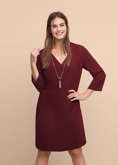 Detachable necklace dress - Dresses Plus sizes Violeta By Mango, Mango France, Dress Up, High Neck Dress, Plus Size Kleidung, Costume, Real Beauty, Plus Size Outfits, Size 12