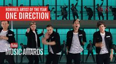 I voted for One Direction to win Artist of the Year One Direction Youtube, I Love One Direction, Vote Now, Midnight Memories, Five Guys, Teen Life, I Voted, 1d And 5sos, Cards For Friends