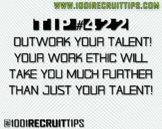 @1001 Recruit Tips sports motivational quotes