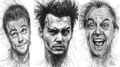 КАК нарисовать ЭМОЦИИ ЧЕЛОВЕКА карандашом