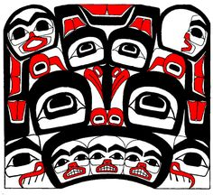 The Tlingit people of Southeast Alaska (along with their neighbors, the Haidas and Tsimshian) are the only hunter-gather culture that developed a high art form. Sitka Alaska Tribe Seal by Native American Seals/Logos, via Flickr