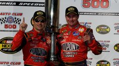 VIDEO:  Top NASCAR race winners in history of Auto Club Speedway  -  No one has won more NASCAR Cup Series races at Auto Club Speedway than Jimmie Johnson, who went to Victory Lane at the 2-mile track for a record sixth time in 2016. Check out the other drivers who own multiple NASCAR Premier Series wins at Fontana: Jeff Gordon, 3 wins Matt Kenseth, 3 wins Kyle Busch, 3 wins Tony Stewart, 2 wins...  MORE...