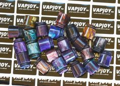 Resin Drip Tip for TFV8. Size: 18.1(H)x16.1(D)mm, Insert Dia:12.62mm. G.W.: 16g. Material: Resin. Compatible with Kennedy 24. wholesale@vapjoy-ecig.com