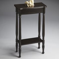 Butler Console Table - Rubbed Black | from hayneedle.com