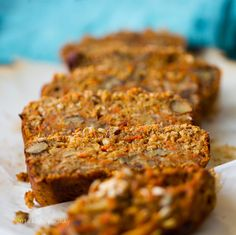 It's like carrot cake. And banana bread. All in one. Two faves. I'm sold!   This Rustic Carrot-Banana Bread  is loaded with walnuts and spi...