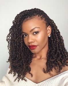 Spilling the tea on the popular Spring Twists Protective Style, . - Spilling the tea on the popular Spring Twists Protective Style, - Natural Hair Twists, Pelo Natural, Natural Hair Care, Box Braids Hairstyles, My Hairstyle, Crochet Twist Hairstyles, Black Hairstyles, Wedding Hairstyles, Summer Hairstyles
