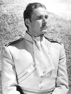 Errol Flynn, The Charge Of The Light Brigade, 1936.