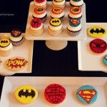 Super Hero Cookies ~ Batman, Spider Man and Super Man | thebakedequation.com