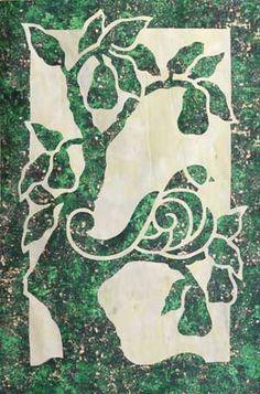Partridge & Pears applique quilt pattern