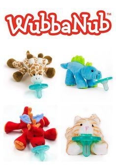 "WubbaNub© ""Brights"" Little Lion is the perfect companion for the little king of your jungle. It is easy to clean and the patented design helps the pacifier stay near the baby's mouth. BPA, PVC and Phthalate Free."