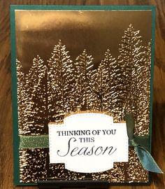 Create Christmas Cards, Simple Christmas Cards, Christmas Card Crafts, Homemade Christmas Cards, Stampin Up Christmas, Christmas Cards To Make, Noel Christmas, Xmas Cards, Homemade Cards