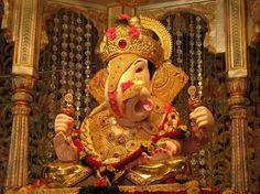Shreemant Dagdusheth Halwai Sarvajanik Ganpati in Pune Jai Ganesh, Ganesh Lord, Ganesh Statue, Shree Ganesh, Lord Shiva, Dagdusheth Ganpati, Ganesh Aarti, Ganpati Bappa Wallpapers, Ganesh Photo