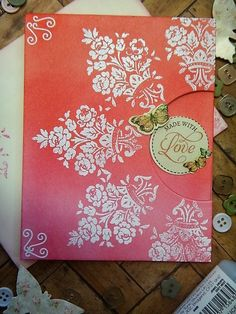 HandmadebyRenuka: 1kit and 10 more cards with LFL March 2017 card kit - 5 Distress ink Cards