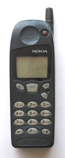 My first cell phone.  I miss that wobbly antennae