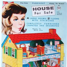 Paper Dolls~House For Sale