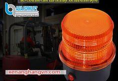 Đèn cảnh báo chớp Led tích hợp kèn báo động 12V-24V-48V - Phụ Tùng Xe Nâng Asia Led 12v