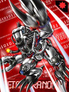 MetalTyranomon Digimon Collectors  card (EX card)