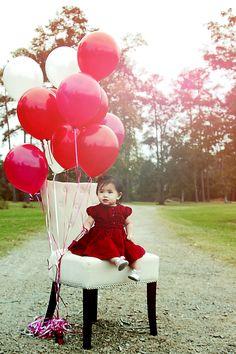 Tristen's first birthday photo